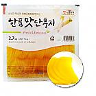 한품-맛단무지(반달)2.7kg